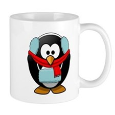 Winter Penguin Mugs