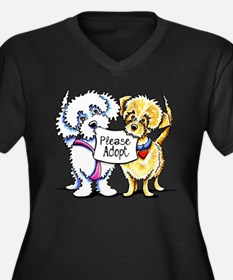 Mighty Mutts Adopt Plus Size T-Shirt