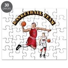 Sports - Basketball Team Puzzle