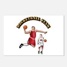 Sports - Basketball Team Postcards (Package of 8)