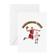 Sports - Basketball Team Greeting Card