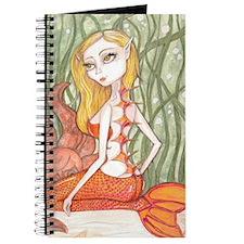 Orange Mermaid Journal