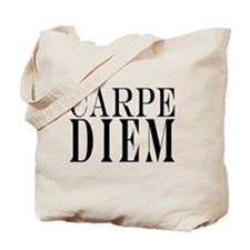 Famous Latin Quote : Carpe Diem  Tote Bag