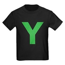 Letter Y Green T-Shirt
