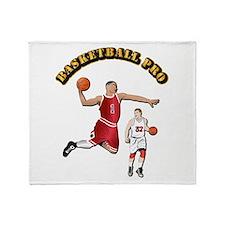 Sports - Basketball Pro Throw Blanket