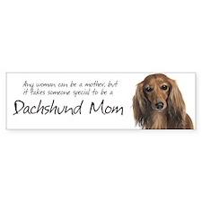 Dachshund Mom Bumper Bumper Sticker