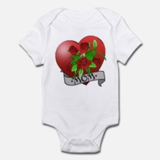 Mom Tattoo Mothers Day Infant Bodysuit