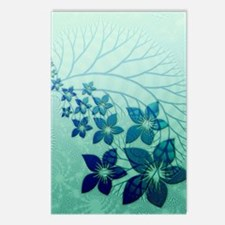 Floral Art and Design Postcards (Package of 8)