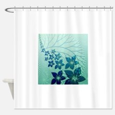 Floral Art and Design Shower Curtain