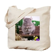 Chinchilla tan velvet  Tote Bag