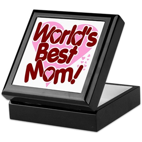 World's BEST Mom! Keepsake Box