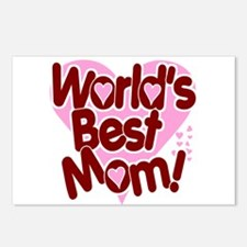 World's BEST Mom! Postcards (Package of 8)