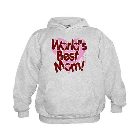 World's BEST Mom! Kids Hoodie