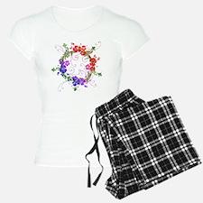 Floral Art and Design Pajamas