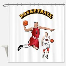 Sports - Basketball Shower Curtain