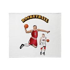 Sports - Basketball Throw Blanket