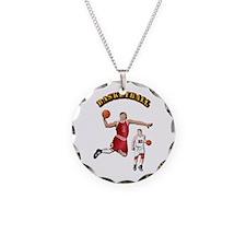 Sports - Basketball Necklace