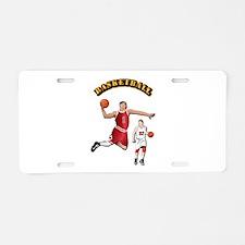 Sports - Basketball Aluminum License Plate