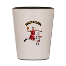Sports - Basketball Shot Glass