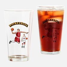 Sports - Basketball Drinking Glass
