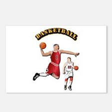 Sports - Basketball Postcards (Package of 8)