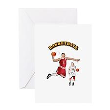 Sports - Basketball Greeting Card