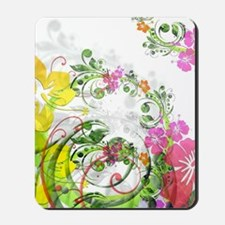 Floral Art and Design Mousepad