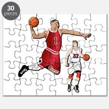 Sports - Basketball - No Txt Puzzle