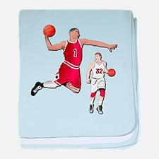 Sports - Basketball - No Txt baby blanket