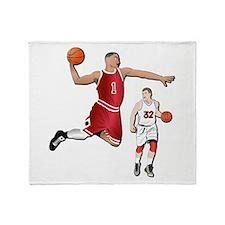 Sports - Basketball - No Txt Throw Blanket