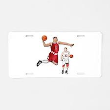 Sports - Basketball - No Tx Aluminum License Plate