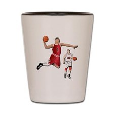 Sports - Basketball - No Txt Shot Glass