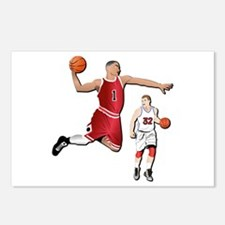 Sports - Basketball - No Postcards (Package of 8)