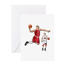 Sports - Basketball - No Txt Greeting Card