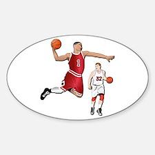 Sports - Basketball - No Txt Sticker (Oval)