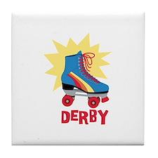 Derby Tile Coaster