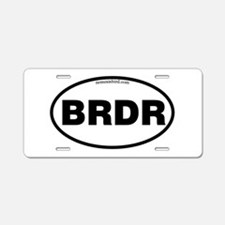 Cute Birding Aluminum License Plate