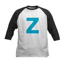 Letter Z Blue Baseball Jersey