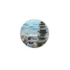 Zen Stone Tower Mini Button (100 pack)