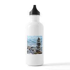Zen Stone Tower Sports Water Bottle