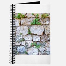 Stone wall graphic Journal