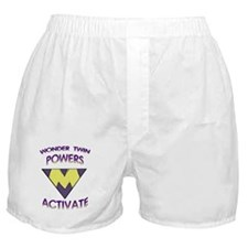 Wonder Twins Powers - M Boxer Shorts