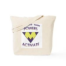 Wonder Twins Powers - M Tote Bag