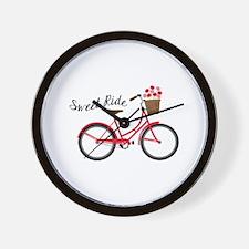 Sweet Ride Wall Clock