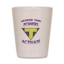 Wonder Twins Powers - T Shot Glass