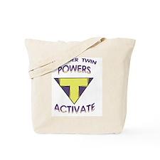 Wonder Twins Powers - T Tote Bag