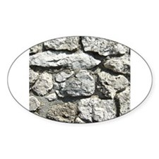 Grey Rock wall graphic Decal