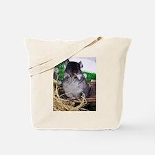 Baby black velvet chinchilla Tote Bag