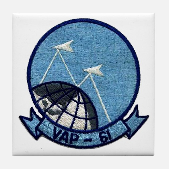VAP 61 World Recorders Tile Coaster