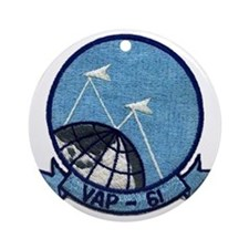 VAP 61 World Recorders Ornament (Round)